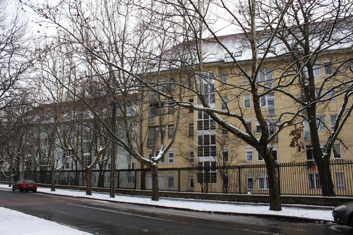 d020a6358416 A volt szovjet színházat felújították, a közösségi élet megélénkült a  területen. A felújított köztereken a régi hangulatot az Erzsébetligeti  Színházhoz ...